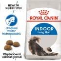Royal Canin Indoor Longhair granule pro kočky žijící uvnitř a zdravou srst 400g