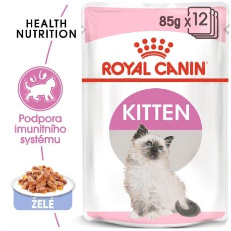 Royal canin Feline Kitten Inst kaps v želé 85g