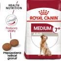 Royal Canin Medium Adult 7+ granule pro dospělé stárnoucí střední psy 15kg