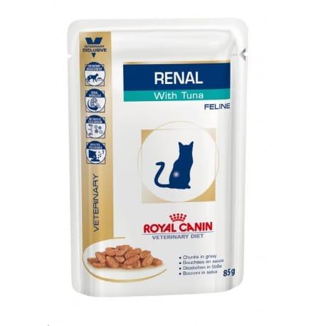 Royal Canin VD Feline Renal  12x85g tuňák kapsa
