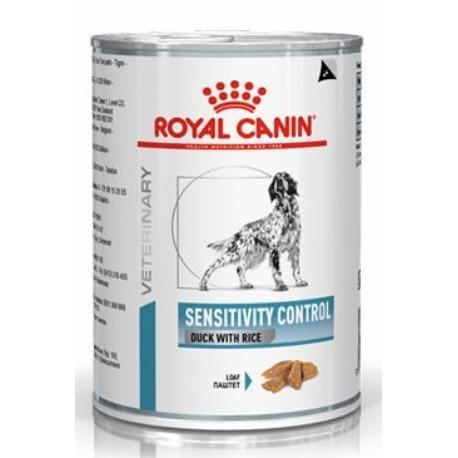 Royal Canin VD Canine Sensit Control 420g konz Duck