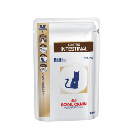 Royal Canin VD Feline Gastro Intest  12x100g kaps