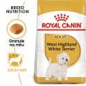 Royal Canin Westie Adult granule pro dospělého westíka 1,5kg