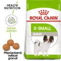 Royal X-Small Adult granule pro dospělé trpasličí psy 3kg