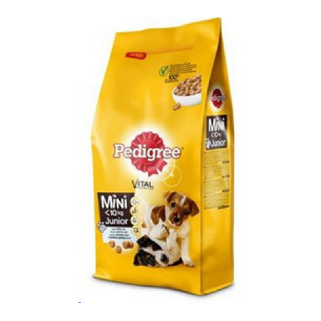 Pedigree Dry Junior Mini kuřecí s rýží 2kg