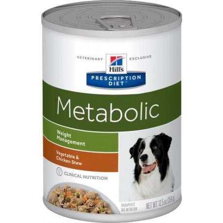 Hill's Can. konz. Metabolic Chicken&vege stew 354g