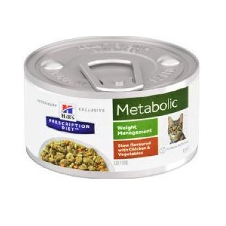 Hill's Fel. konz. Metabolic Chicken stew 82g