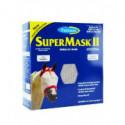 FARNAM Supermask II bez uší vel. ARAB šedo-zelená