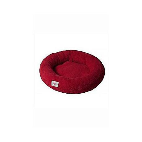 Pelech Amélie plyš kulatý 60cm  Červená A22 1ks