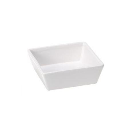 Miska keramická ALTAIR White 16 čtvercová 0,8l FP