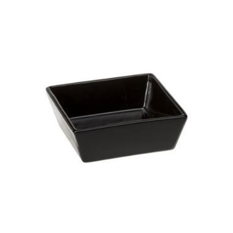 Miska keramická ALTAIR Black 16 čtvercová 0,8l FP