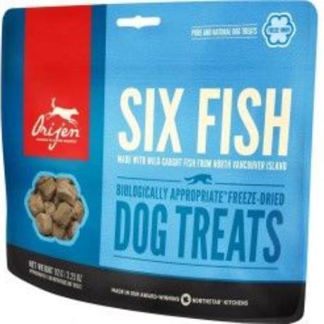 Orijen Dog Treats FD Six Fish 92g