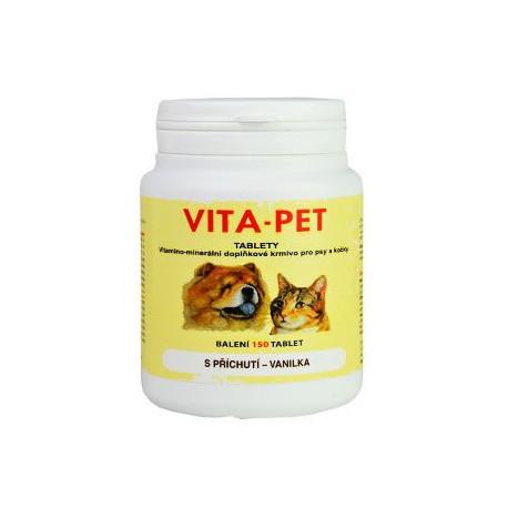 Vita Pet vanilka 150tbl