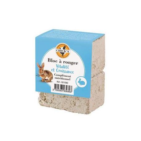 Minerální kámen pro králíky a jiné hlodavce 2x100g