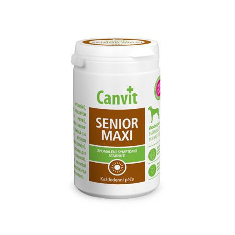 Canvit Senior MAXI pro psy ochucený 230g