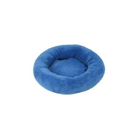 Pelech Amélie plyš kulatý 50cm  Modrá tm. A02 1ks
