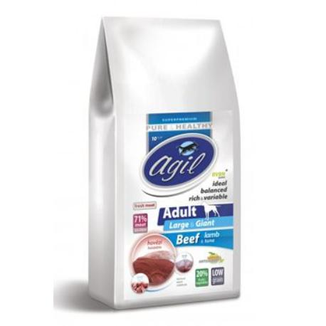 Agil Adult Large Breed Pure&Health Low Grain 10kg
