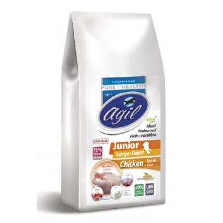 Agil Junior Large&Giant Pure&Health Low Grain 10kg