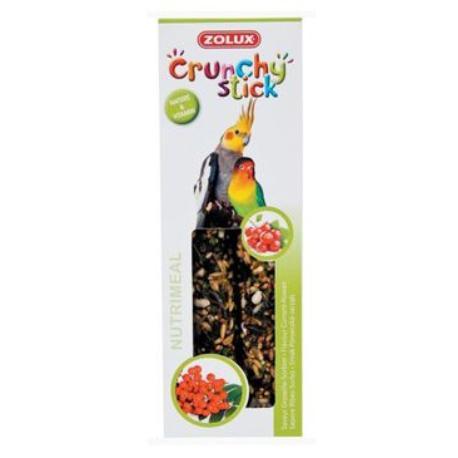 Crunchy Stick Large parakeet Rybíz/Jeřabiny 2ks Zolux