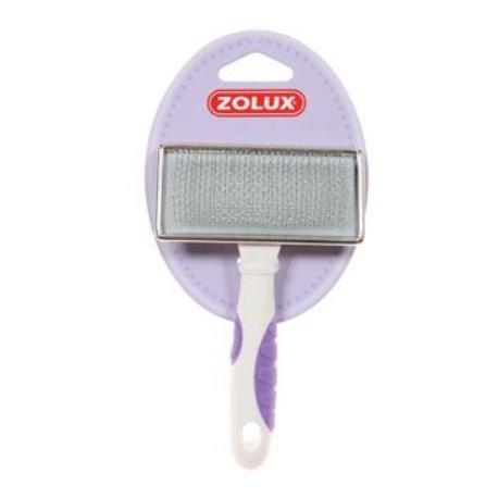 Kartáč kovový pro kočky M Zolux