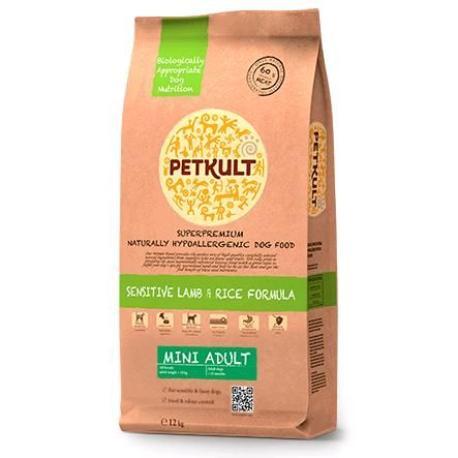 Petkult Dog Mini Adult Lamb/Rice 2kg