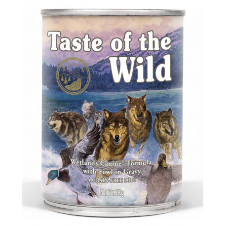 Taste of the Wild konz. Wetlands Wild Fowl Dog 390g