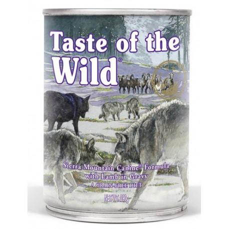 Taste of the Wild konz. Sierra Mountain Dog 390g