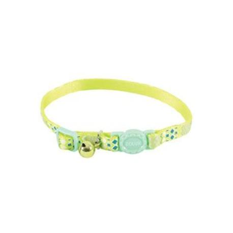 Obojek kočka ETHNIC nylon zelený Zolux