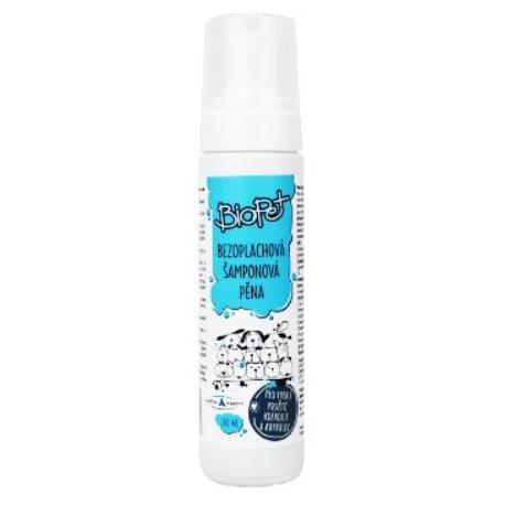 BIOPET bezoplachový šampon/pěna 200ml