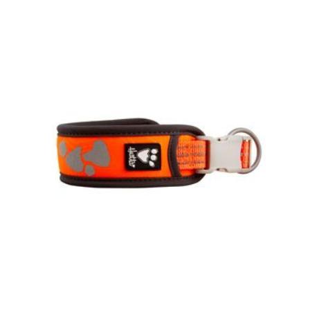 Obojek Hurtta Weekend Warrior neon oranžový 25-35cm