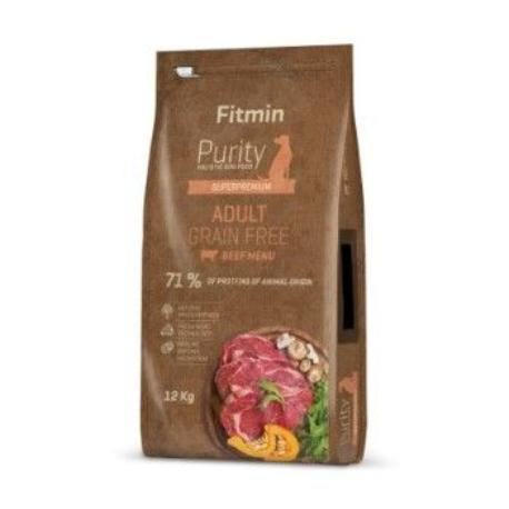 Fitmin Dog Purity Grain Free Adult Beef 12kg