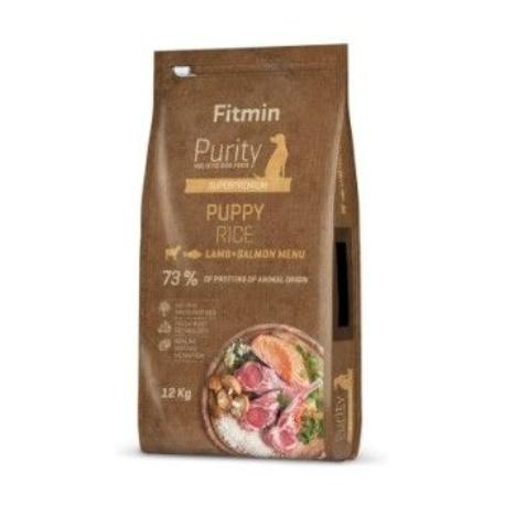 Fitmin Dog Purity Rice Puppy Lamb&Salmon 12kg