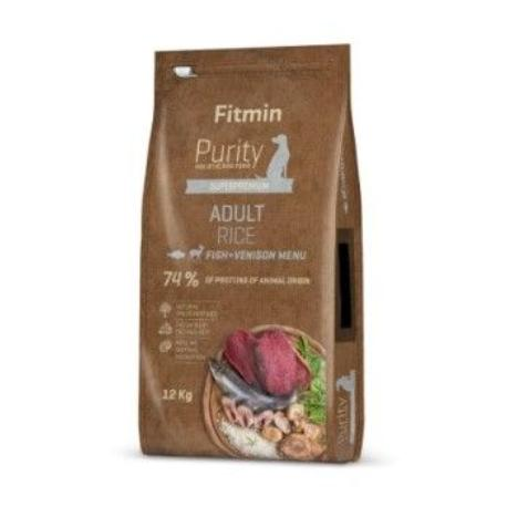 Fitmin Dog Purity Rice Adult Fish&Venison 12kg