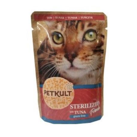 Petkult Cat sterilised tuňák 100g