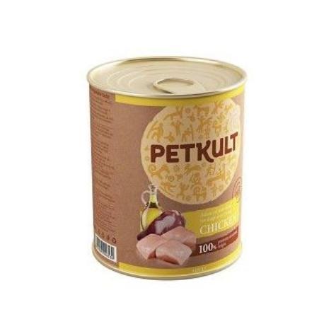 Petkult dog konz. Adult Kuřecí 800g