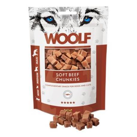 WOOLF pochoutka beef chunkies 100g