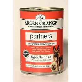 Arden Grange Partners Dog Chicken Rice konz.  395g