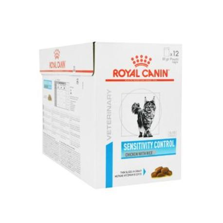 Royal Canin VD Feline Sensit Control 12x85g kuře kapsa