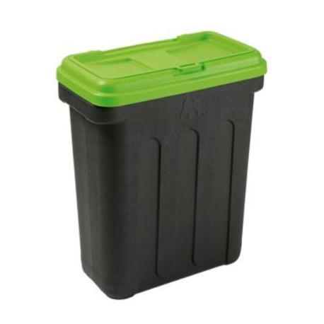 MAELSON Box na granule černá/zelená 7,5kg