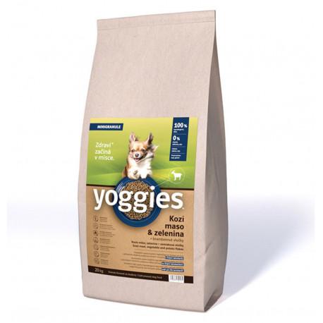 Yoggies Hypoaler. Mini s Kozím mas. a br. vloč. 20kg