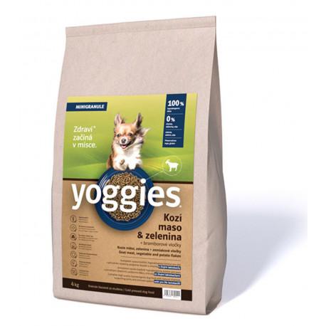 Yoggies Hypoaler. Mini s Kozím mas. a br. vloč. 4kg