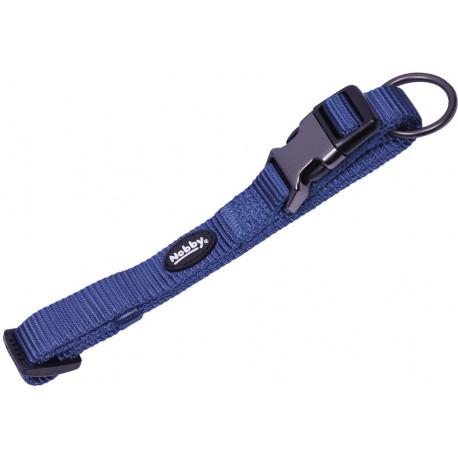 Nobby CLASSIC COMFORT obojek nylon modrý M-L 50-65cm