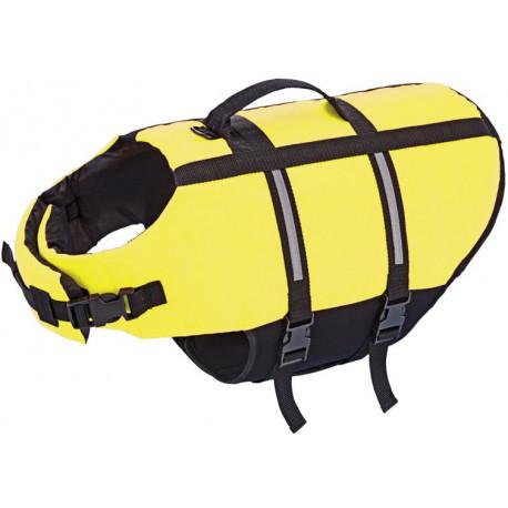 Nobby Elen záchranná plovací vesta pro psa neon žlutá XL-45cm