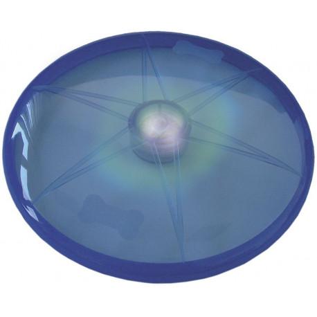 Nobby LED blikající frisbee pro psy modré 15 cm