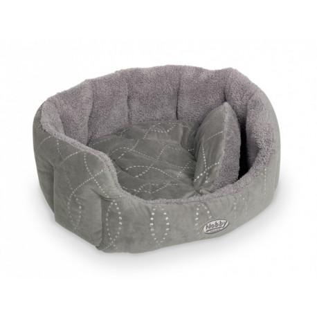 Nobby Ceno pelíšek šedý 66x57x22cm