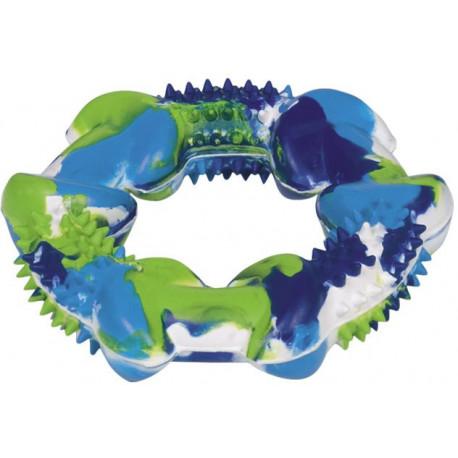 Nobby silná gumová hračka kruh barevný 12cm