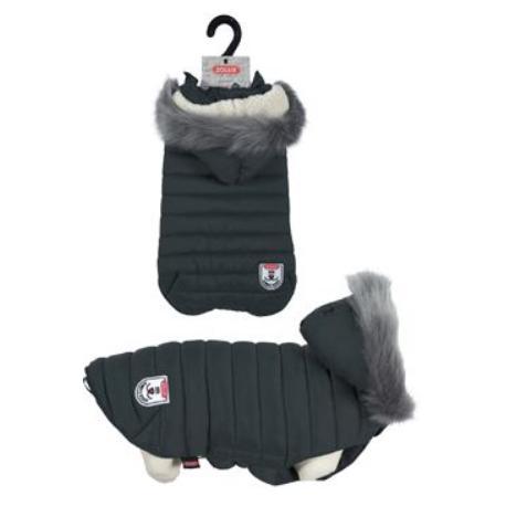 Obleček prošívaná bunda pro psy URBAN černá 35cm Zolux