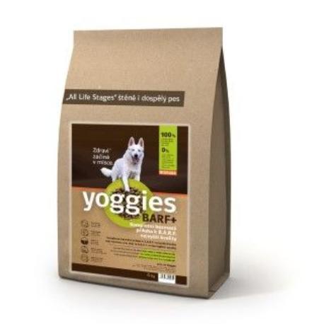 Yoggies BARF+ příl. k syr. masu lisovaná za stud. 20kg