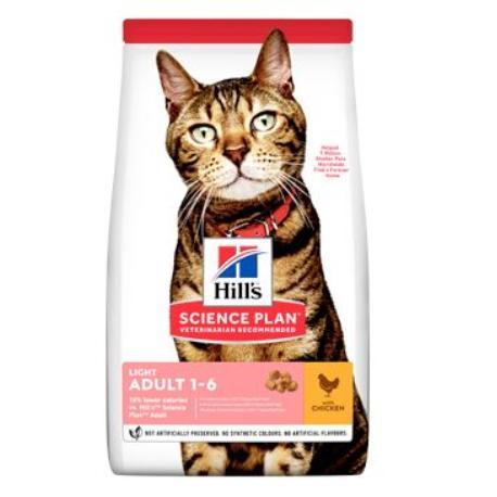 Hill's Fel. Dry Adult Light Chicken 3kg
