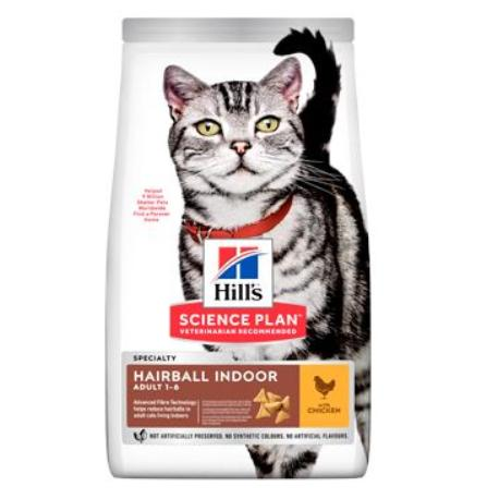 """Hill's Fel. Dry Adult""""HBC for indoor cats""""Chicken 10kg"""